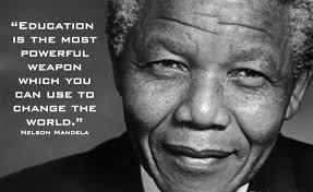 The Famous Nelson Mandela Education Quote | theeducationtrends via Relatably.com