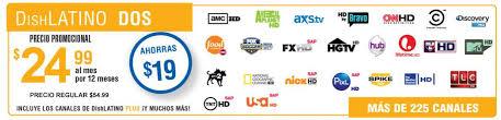Spanish Tv Chanel Dish Dos Dish Network Dish Dos Tv Channels