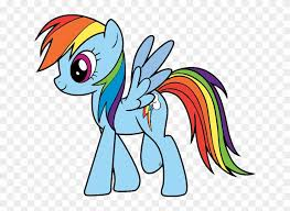 About Rainbow Dash Coloring Pages Free Transparent Png Clipart