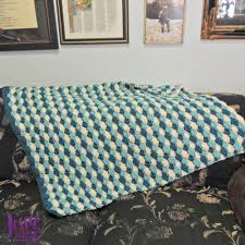 Shell Afghan Crochet Pattern Unique Design