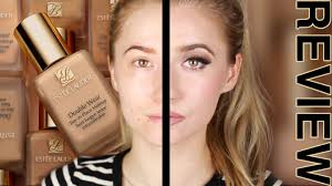 estée lauder double wear foundation review demo geeknchic you