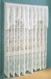 vintage lace curtains