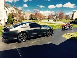2014 Mustang GT/CS & 2003 Honda VTX 1800 F customized with Cobra ...