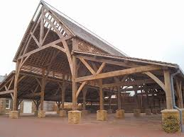 tone public market a large timber frame new build missioned by barnsley borough council mercial timber frame buildings by carpenter oak ltd