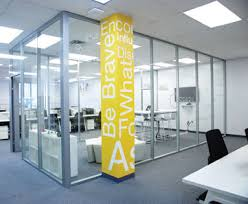 office walls. Floor To Ceiling Glass Office Walls N