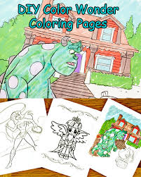 Diy Color Wonder Coloring Pages