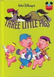 book of the disney three little pigs