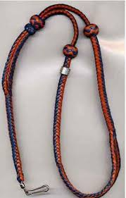 Deluxe Braided Leather Whistle Lanyard - Operation Sheepdog ...