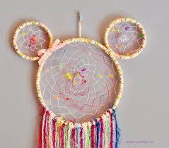 Minnie Mouse Dream Catcher Enchanting Disney Inspired Dream Catcher Minnie Mouse Dream Catcher Mickey