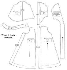 Cloak Sewing Pattern Beauteous Robe Pattern Once Ollie Is Into Harry Potter More He Already