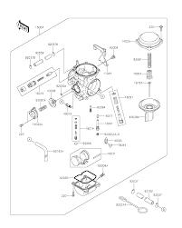 Klr650 Jetting Chart 2016 Kawasaki Klr650 Kl650egf Carburetor Parts Best Oem