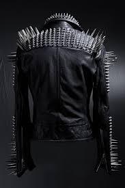 masterpiece fierce studded custom made jacket