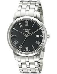 amazon co uk tissot watches mens tissot classic dream watch t0334101105301
