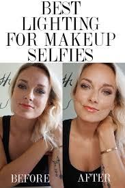 Selfie Ring Light For Makeup Ring Light For Self Portraits Best Lighting For Makeup