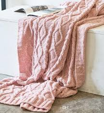 solid color chenille blanket sofa decorative blanket for air throw travel thick knitted blanket 130 180 cm fleece throws on velour throws from