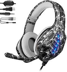 YJY <b>J1 Gaming Headset</b> for PS4,PC, Xbox One: Amazon.co.uk ...
