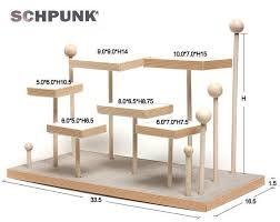 Jewelry Stands And Displays RingStänder aus Stahl und Holz RING100 Natürliche Pappel 2