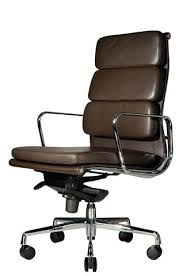 eames ribbed chair tan office. Ergonomic Office Chair Black Leather From Brown Soft Pad Replica High Back Quarter Eames Ribbed Tan