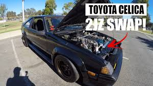 1983 TOYOTA CELICA 2JZ [BEHIND THE SCENES] - YouTube