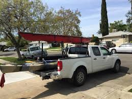 Extend A Truck Kayak Storage Rack Transport In Bed Of Canoe Racks ...