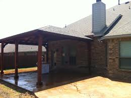 Large Roofed Patio Cover In Wylie Texas