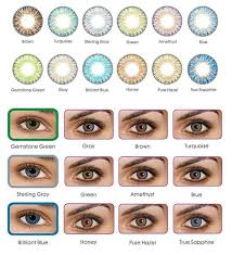 Freshlook Colorblends Toric Color Chart Freshlook Colorblends Cosmetic Colored Contacts 12 Colors