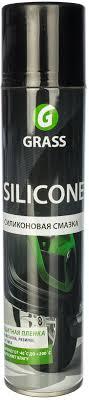 <b>Силиконовая смазка</b> (аэрозоль 400 мл) <b>Grass Silicone</b> 110206 ...