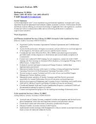 Sample Resume Objectives Quality Control Inspector Fresh Software