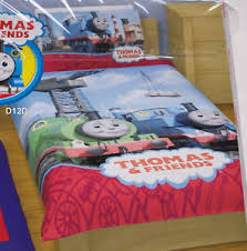 Thomas The Tank & Percy Single Bed Quilt Cover Set New | eBay & Image is loading Thomas-The-Tank-amp-Percy-Single-Bed-Quilt- Adamdwight.com