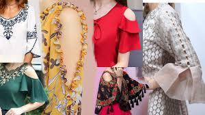 New Baju Design 2019 Different Types Latest Unique Sleeves Sleeves Baju Design For Kameez Suits Kurti