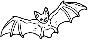 Small Picture Coloring Pages With Four Bats Coloring Page Halloween Free