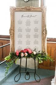 Wedding Seating Chart Frame What A Gorgeous Table Seating Chart For A Wedding I Love
