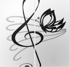 Chiave Violino Tetování
