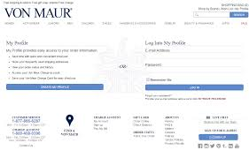 Von Maur Credit Card Login
