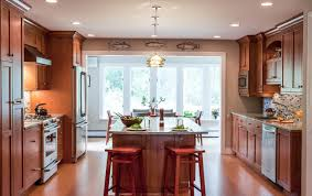 Image Kitchen Dining Photos In Warm And Cozy Kitchen With Open Plan Living Room Houzz Warm And Cozy Kitchen With Open Plan Living Room Traditional