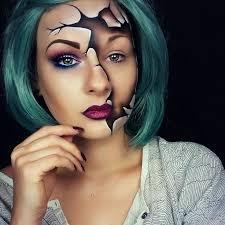 cool ed doll makeup