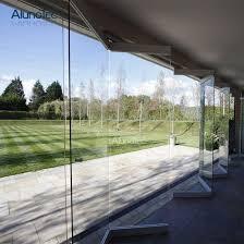 bifold frameless glass door hardware for sliding or folding doors