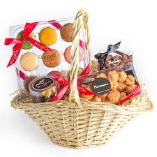 holiday gift basket manhattan only macaron café