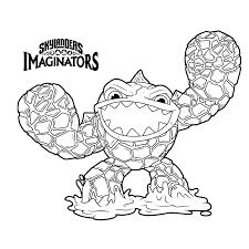 Fantastic Skylanders Imaginators Coloring Pages Image Printable
