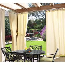 Gazebo Indoor/ Outdoor Grommet Top Curtain Panel - Free Shipping Today -  Overstock.com - 14234349