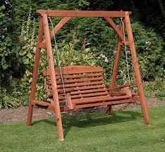 Apex Luxury Wooden Garden Swing Seat Direct Global Trading  https://www.amazon