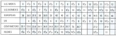 Adidas Shoe Size Chart Uk Www Bedowntowndaytona Com