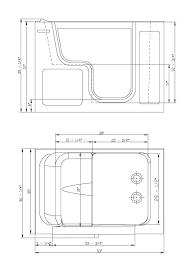 standard bathtub dimensions specifications for extra large walk in tub standard bathtub drain rough in dimensions
