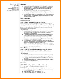 Laboratory Technician Resume Sample Resume Sample For Medical Laboratory Technician Inspirationa Medical 32