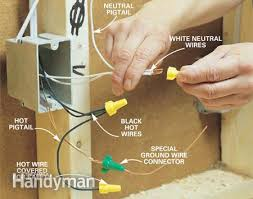 how to rough in electrical wiring electrical wiring, basements 3 Sets Of Wires In One Outlet how to rough in electrical wiring