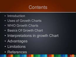 Uses Of Growth Chart Who Growth Chart