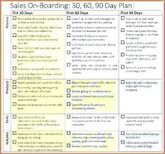 30 60 90 Day Sales Plan Template Free Of Action And Keynote