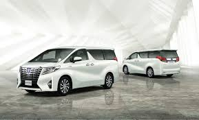2015 Toyota Alphard and Vellfire unveiled