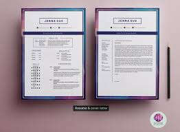 Template For Resume And Cover Letter Editable Modern CV Template Resume Templates on TheHungryJPEG 50