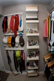 Master Closet Organization - how to use the space behind the door- i need  that